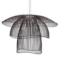 Papillon-suspension Métal Filaire Ø100cm Noir - designé par Elise Fouin