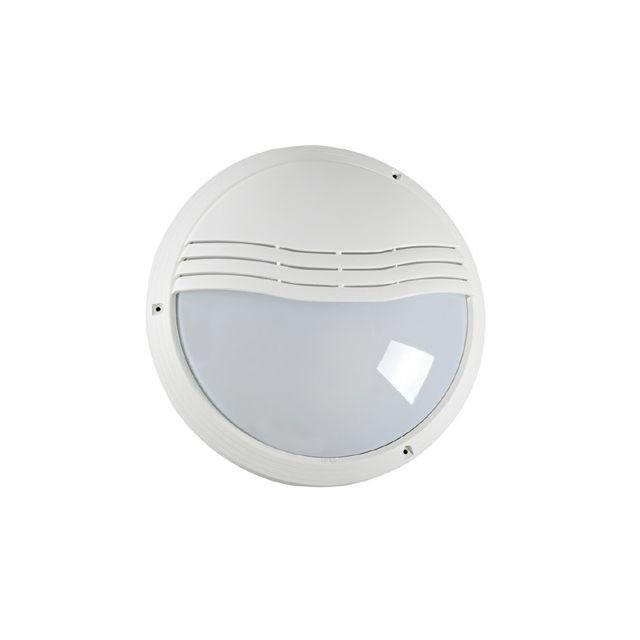 Aric Hublot décoratif extérieur rond diamètre 270 mm 270tp blanc