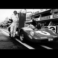 Gulf - Poster Steve McQueen Le Mans 02