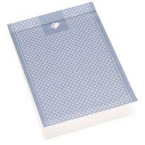 001 International - Bloc bureau Budget avec couverture format A5 petits carreaux 100 feuilles