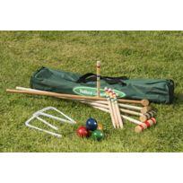 TRADITIONAL GARDEN GAMES - Set de croquet familial en bois