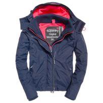caractéristiques exceptionnelles meilleurs prix design élégant Pop Zip Hood Arctic Wndcheater Blouson Femme - Taille M - Bleu