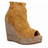 feb9e39122f3ea NERO GIARDINI - Chaussures Femme Sandales modele 7642. 140€. 112€00. -20%.  9083 velours Femme-38-Camel