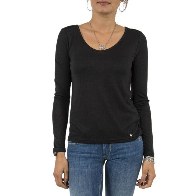 Noir Bombes Shirt Manches Longues W170210 Les P'tites Tee Pas MVSUzp