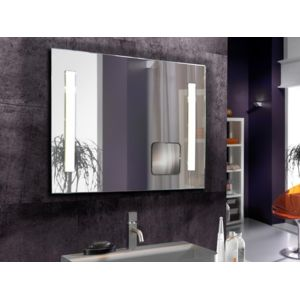 schuller miroir design avec lumi re led int gr e pour salle de bain deco originale pas. Black Bedroom Furniture Sets. Home Design Ideas