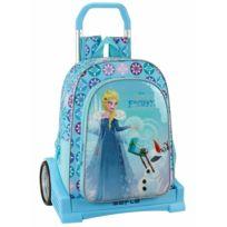 Frozen - Sac à roulettes Reine des neiges Evolution Aventure 43 Cm Haut de Gamme - Cartable trolley