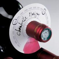 L Atelier Du Vin - Etiquettes pour bouteille de vin en forme de disques - lot de 80