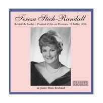 Preiser - Mozart/Schubert/Brahms/Strauss : Recital 31.7.1956. Stich-Randall