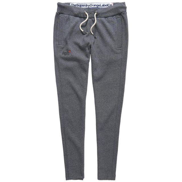 Orange Homme Label Jogging Taille S Slim Gris Pantalon c1JKlF