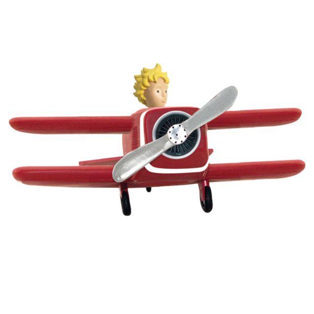 Le Petit Prince Figurine Avion du Petit Prince