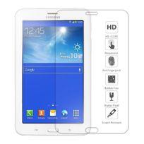 """Cabling - Film Protecteur d'écran en Verre Trempe pour Samsung Galaxy Tab 3 Lite 7"""" T110 Ultra Transparent Ultra Résistant Inrayable Invisible pour tablette Samsung Galaxy Tab 3 lite 7 pouces"""