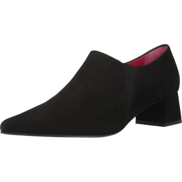 Jaime Mascaro Mocassins et chaussures bateau femme 45607 5114, Noir