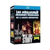 Mgm - Les Meilleures comédies musicales en haute définition : New York, New York + West Side Story + Hair coffret 3 Blu-ray