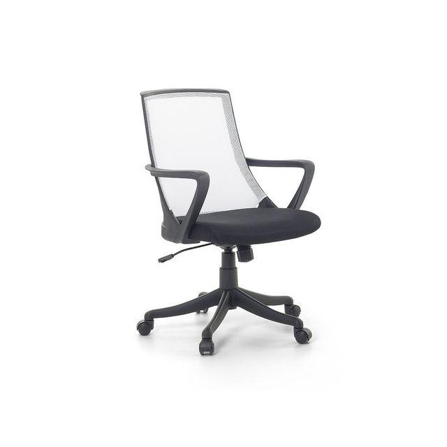 Beliani Chaise de bureau - fauteuil design blanc - Ergo