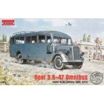 Roden - 720 Opel Blitz 3.6-47 Type W39 Bus Ludewig ESSEN, 1:72 Plastic Kit Maquette