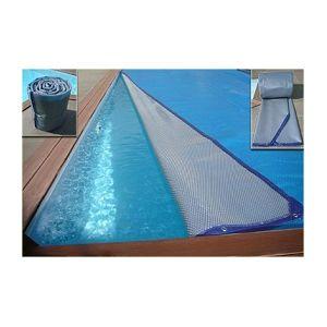 Lekingstore b che bulles et pour piscine ronde octogonale 480x120cm pas cher achat for Bache ete piscine hors sol