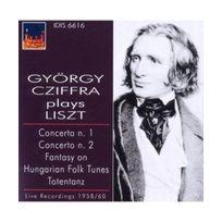 Idis - Georges Cziffra joue Liszt : Concertos pour piano, Totentanz, Fantaisie sur des airs folkloriques hongrois