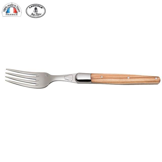 LAGUIOLE - Fourchette de table manche Bois d Olivier 13772-manche bois d olivier
