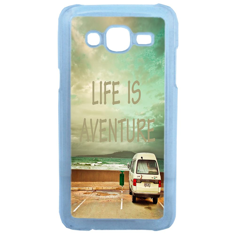 Lapinette - Coque Rigide Life Is Aventure Pour Samsung Galaxy J5