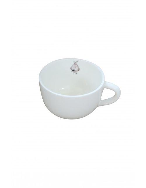 Decoshop Grande tasse à café oiseau
