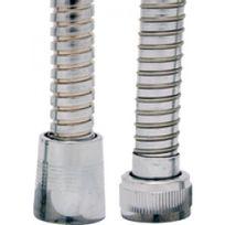 Disflex - Flexible de douche laiton chromé avec écrou tournant