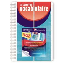 Clairefontaine - Koverbook - Le Carnet Vocabulaire - 11 x 17 cm