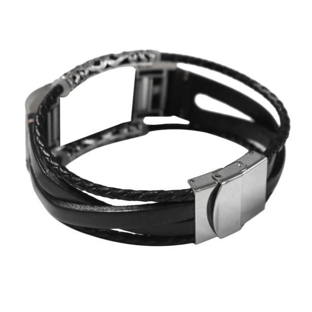 bracelet cuir fitbit charge 2 homme