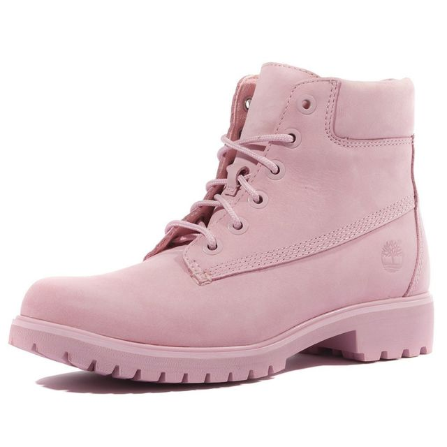 Timberland 6 inch Premium Boots Rose pas cher Achat