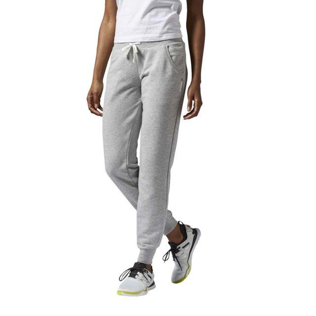 a0289133c0615 Reebok - Pantalon de survêtement Elements Cuffed Pant - pas cher Achat    Vente Survêtement femme - RueDuCommerce