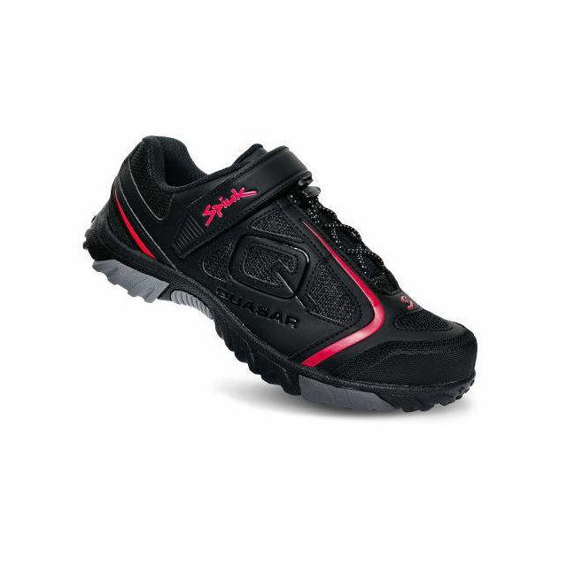 928b47f9544 Spiuk - Chaussures Quasar Vtt 2019 noir mat rouge - pas cher Achat ...