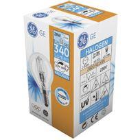 General Electric - Ampoule halogène sphérique E14 630Lum 42W Compatible variateur x3