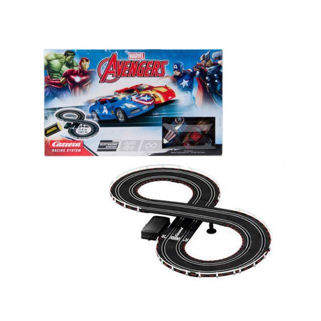 Carrera Circuit voitures The Avengers 1/43- Dès 4 ans - Go!!! 62473