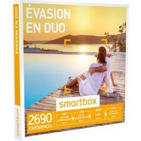 Smartbox - Évasion en duo - 2690 activités : séjour, séance bien-être, gastronomie ou aventure - Coffret Cadeau