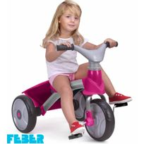 Feber - Tricycle - Le Baby Trike Girl Premium - Rose - 800009561