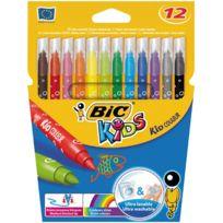 Bic Kids - feutre coloriage kid couleur - lot de 25 pochettes de 12 + 2 kdo