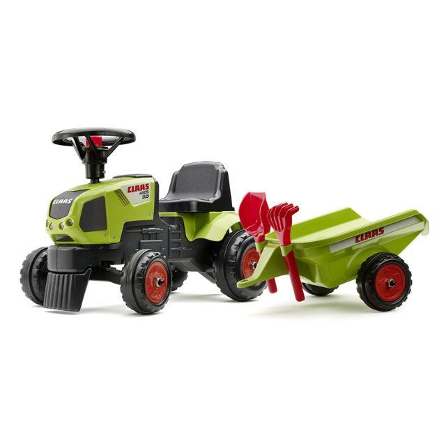 Falk tracteur enfant claas axos remorque accessoires - Remorque tracteur enfant ...