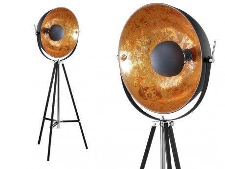 insideart lampadaire cin ma industriel movie h 166 cm. Black Bedroom Furniture Sets. Home Design Ideas