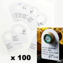 C. Diffusion - Etiquettes pour Goulot de bouteille de vin x 100