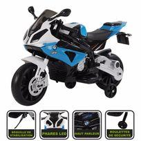 Cristom - Moto électrique 12V pour enfant, licence Bmw