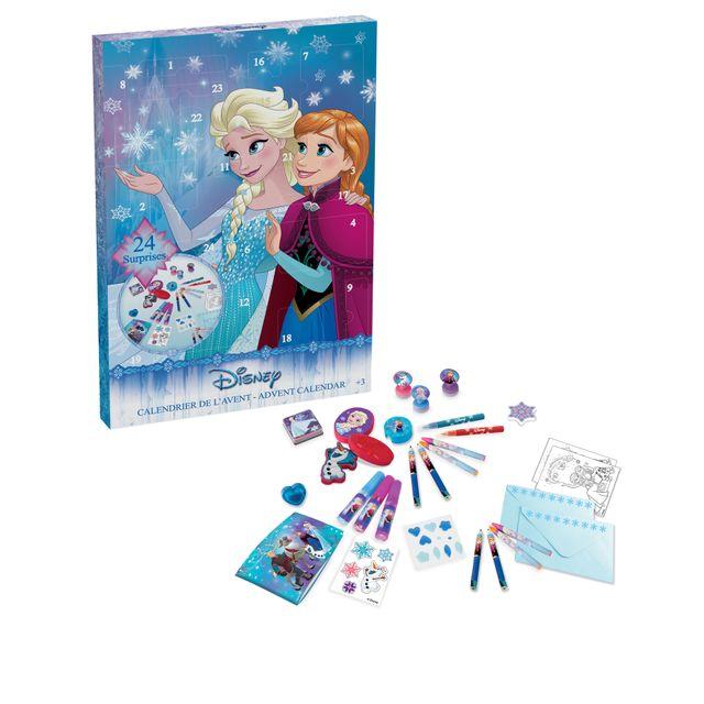 LA REINE DES NEIGES REINE DES NEIGES - Calendrier de l'avent Frozen - 44 pièces pour colorier