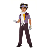 César - Costume Gingka Hagane - Beyblade - Enfant - Taille : 6/8 ans 114 à 126 cm