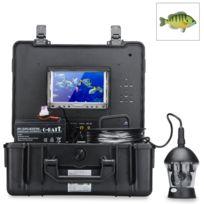 Shopinnov - Camera sous-marine 360 degres capteur Sony Ccd 1/3 pouces 600LTV + Moniteur 7 pouces couleur + Telecommande