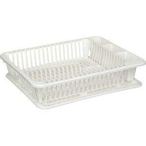 SUNWARE - Egouttoir à vaisselle avec plateau Kitchen Ware Blanc ...