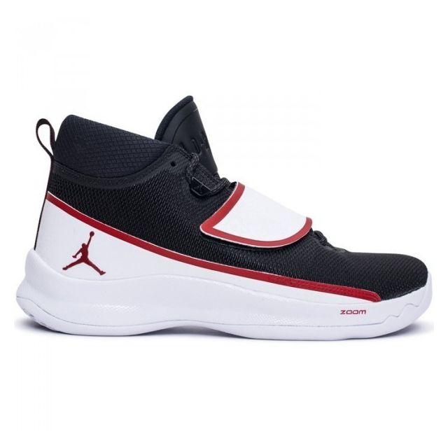wholesale dealer 6f92c d1686 Jordan - Chaussure de Basketball Super Fly 5 Po Noir Blanc rouge pour homme  Pointure - 44 - pas cher Achat   Vente Chaussures basket - RueDuCommerce