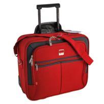 Benzi - Pilot-Case trolley - Rouge - valise ordinateur