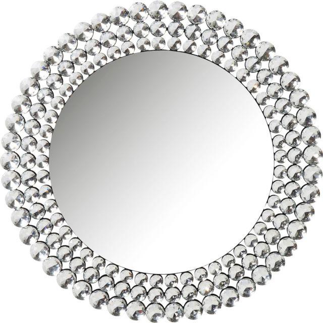 Karedesign Miroir Diamond Fever rond 100cm Kare Design