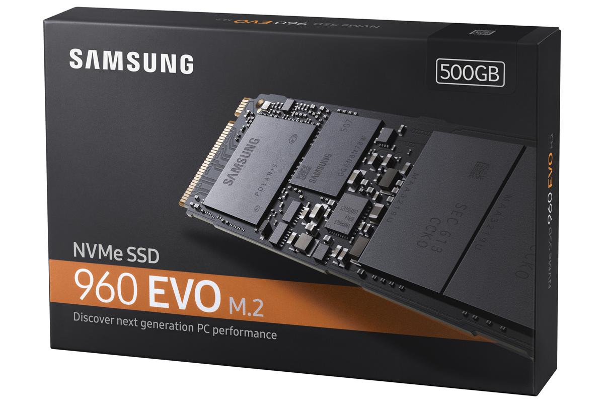 SSD 960 EVO M.2 500 Go