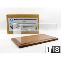 Atlantic Case - 1/18 - Boite-vitrine Show-case 1/18 - Molsheim Bois Mahogany - 10047