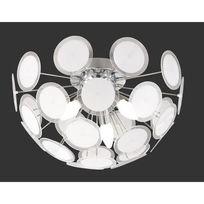 Trio-Leuchten - Plafonnier Disc Chrome - Trio Lighting