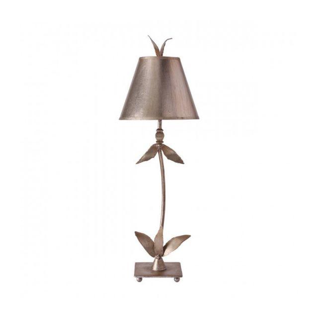 Elstead Lighting Lampe de table Red Bell Argent